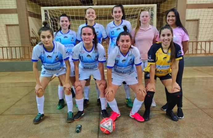 PF-19 Projeto Feminino lidera municipal de Futsal em Missal