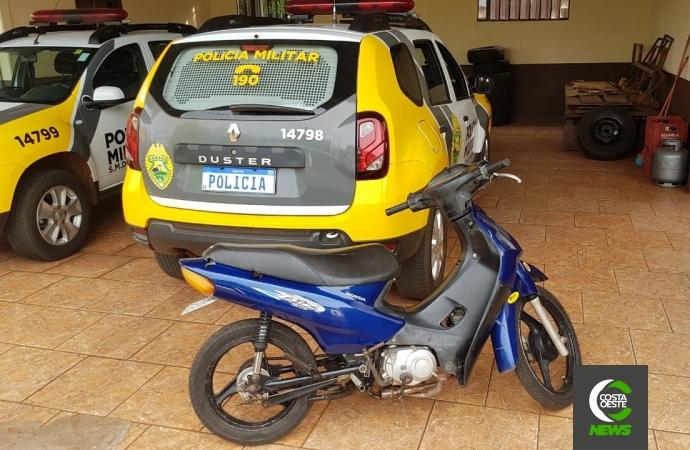 PM detém condutor de motocicleta em São Miguel do Iguaçu