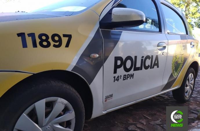 PM prende homem com mandado de prisão em Medianeira