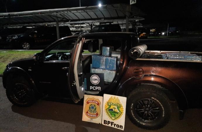 Polícia apreende quase uma tonelada de maconha em Santa Helena