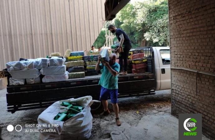 Polícia Civil de Santa Helena incinera cerca de 4,5 toneladas de drogas