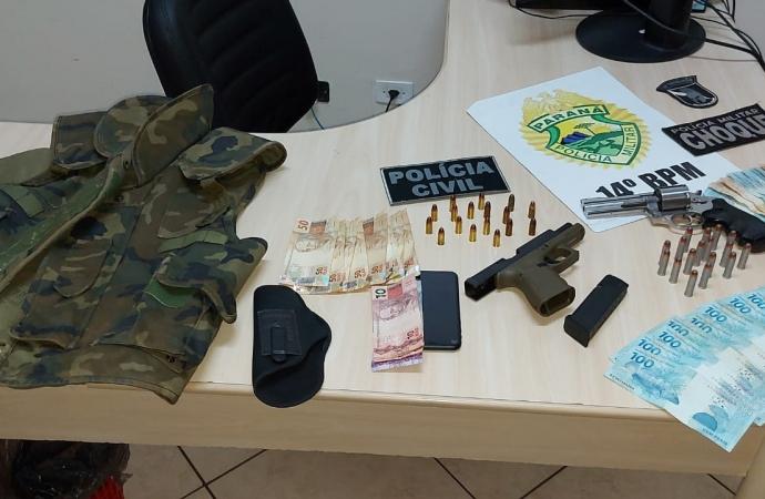 Polícia Civil de Santa Terezinha de Itaipu desarticula grupo criminoso