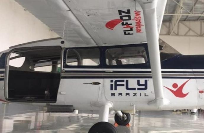 Polícia Civil segue investigando caso do avião roubado em Foz do Iguaçu e levado ao Paraguai