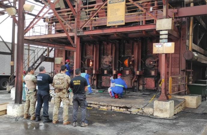 Polícia Federal em Guaíra promove a 3ª incineração de 2021 e destrói mais de 8 toneladas de drogas