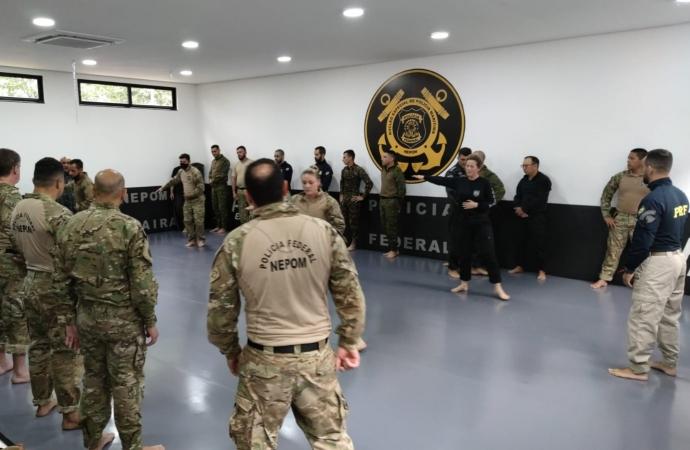 Polícia Federal em Guaíra sedia 1º Curso de Contramedidas do Programa V.I.G.I.A.