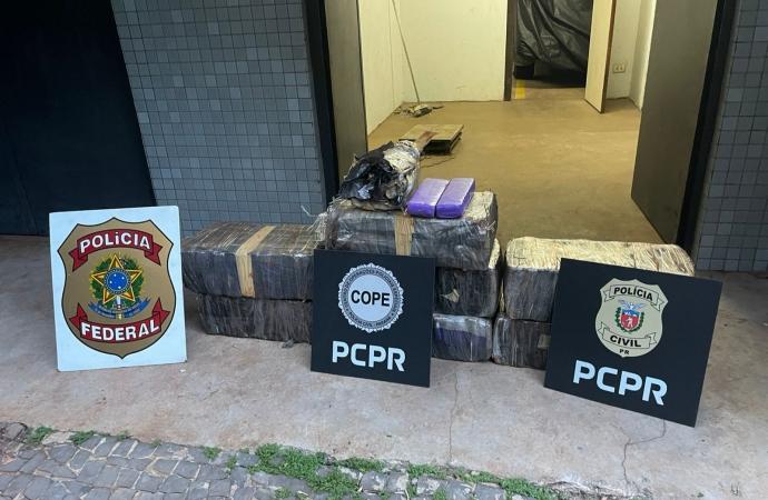 Polícia localiza droga durante operação em Santa Helena