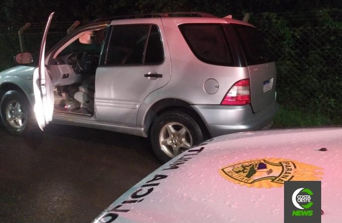 Polícia Militar apreende veículo clonado em Itaipulândia