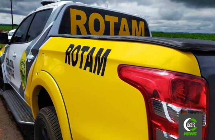ROTAM cumpre mandado de prisão em Itaipulândia