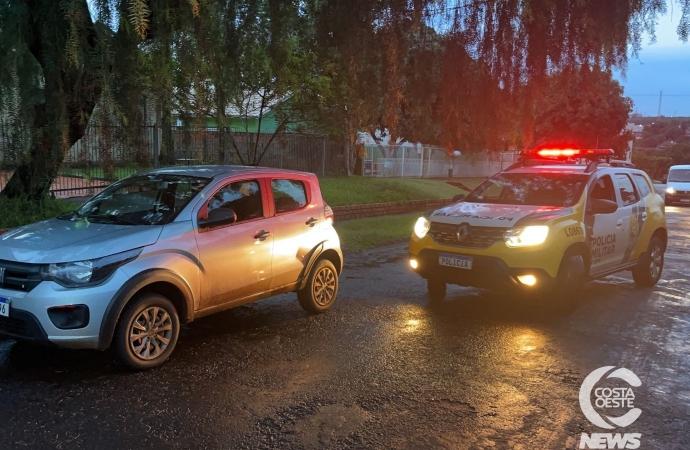 Polícia Militar de Medianeira recupera veículo roubado em  Cascavel