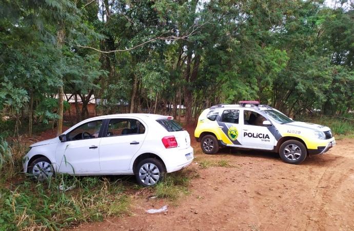 Polícia Militar de Santa Helena recupera veículo furtado