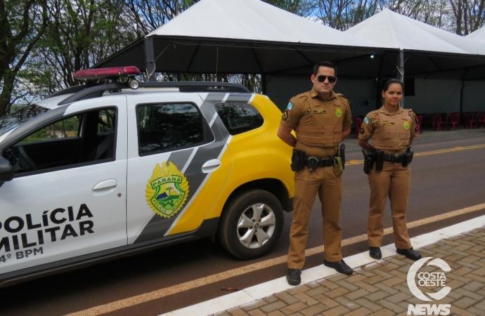 Polícia Militar intensifica segurança em Itaipulândia e comandante repassa orientações