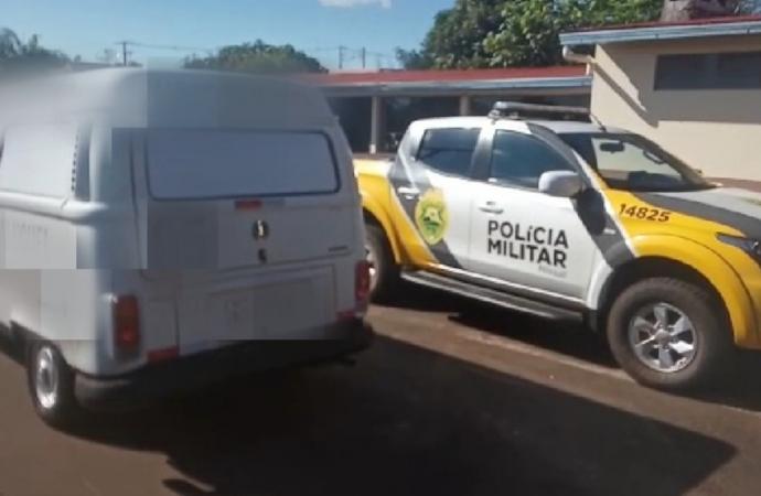 Polícia Militar prende condutor com veículo carregado de cigarros contrabandeados em Missal