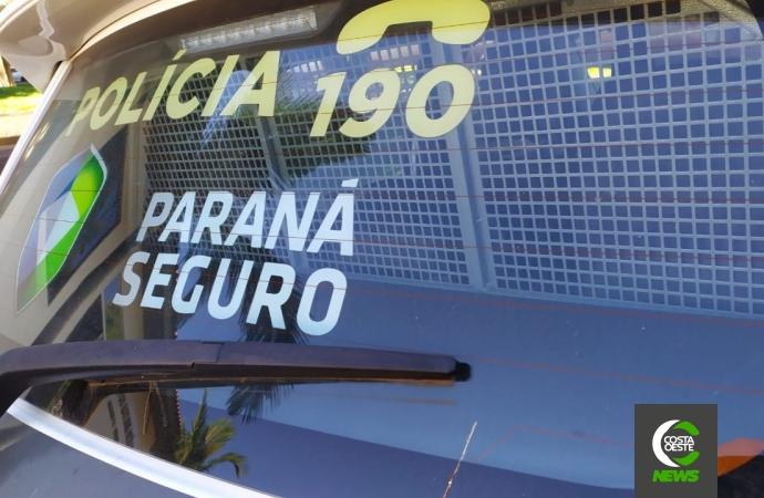 Polícia Militar prende homem por violência doméstica em Serranópolis do Iguaçu