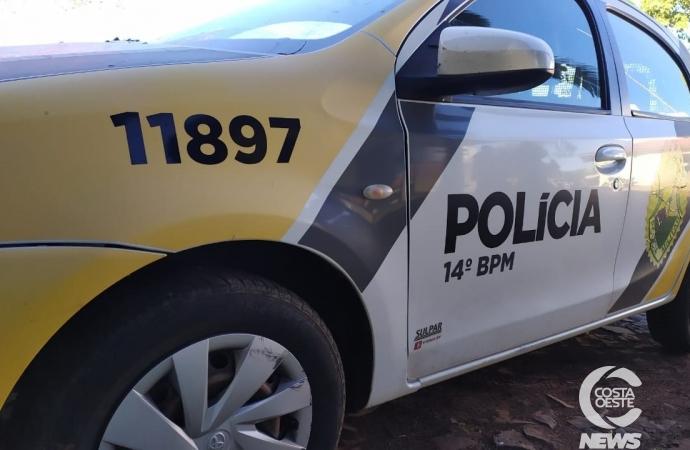 Polícia Militar prende indivíduo que  agrediu os tios em Itaipulândia