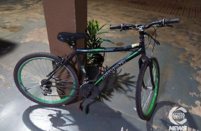 Polícia Militar recupera bicicleta e detém homem em Santa Helena