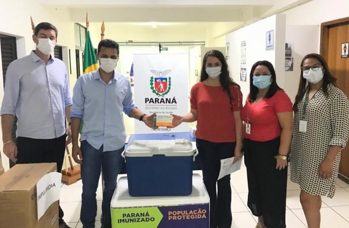 Medianeira recebe da 9ª Regional de Saúde vacinas contra Covid-19