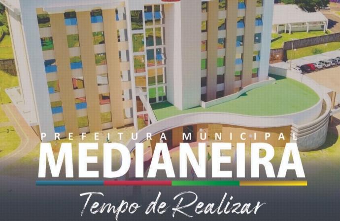Prefeitura de Medianeira apresenta slogan da nova administração