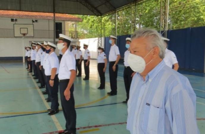 Presidente da Soamar prestigia solenidade pelo Dia do Marítimo