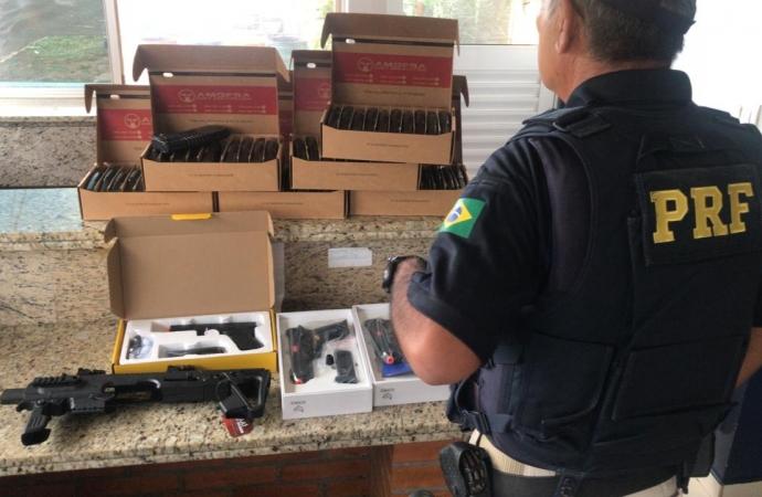 PRF apreende armas de airsoft importadas irregularmente