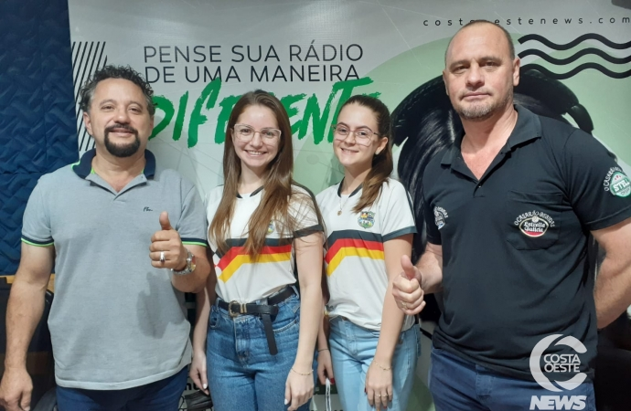 Programa Assim Canta a Costa Oeste recebeu a visita de empresário e membros da diretoria da comunidade de Aurora do Iguaçu