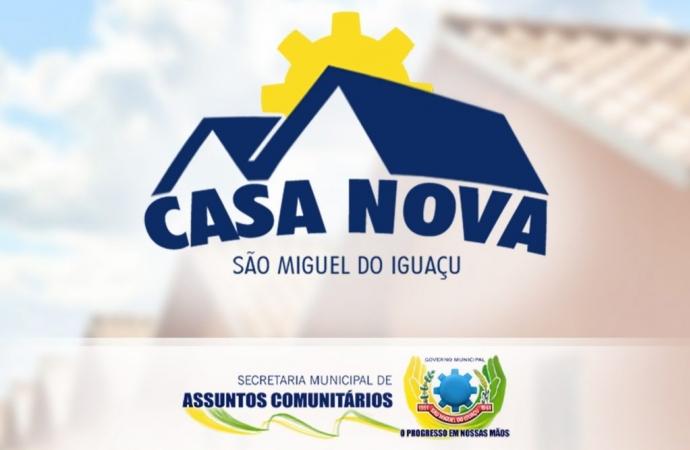 Programa Casa Nova vai beneficiar famílias de São Miguel que moram em áreas de risco