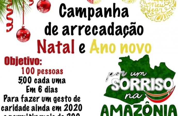 """Projeto """"Por Um Sorriso na Amazônia"""" precisa da sua doação; colabore"""