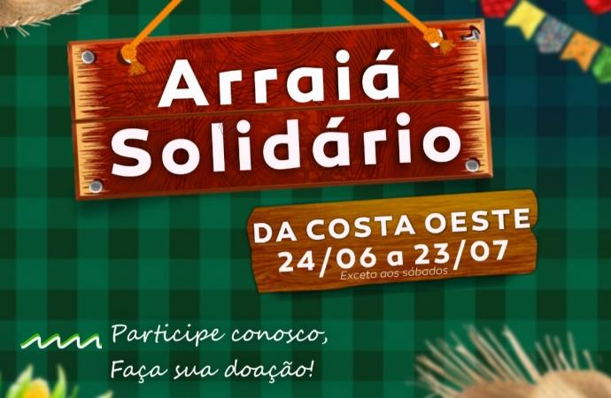 Rádio Costa Oeste 106,5 FM promove Arraiá Solidário