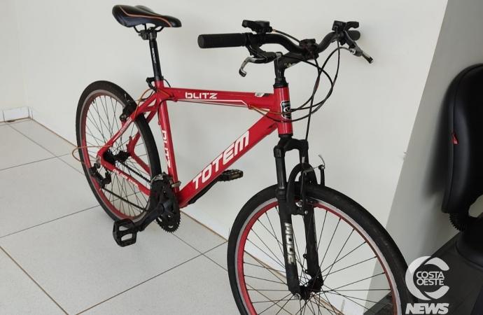 Rapaz furta bicicleta na UPA Covid em Santa Helena e acaba preso pela Polícia Militar na PR 495