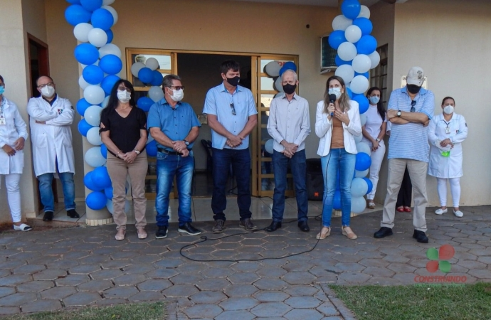Reabertura da Unidade de Saúde em Vista Alegre foi oficializada nesta segunda-feira (03) em Missal