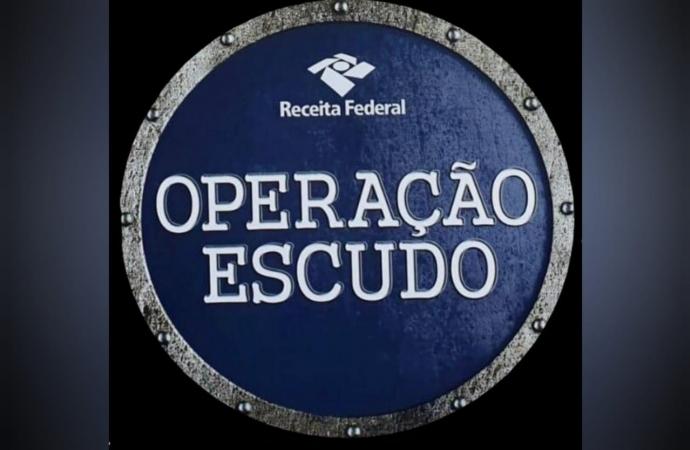 Receita Federal deflagra 1ª fase ostensiva da Operação Escudo em 2021 nesta terça-feira (06)