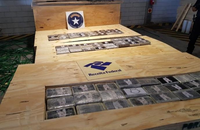 Receita Federal e Polícia Federal deflagram operação de combate ao tráfico internacional de drogas