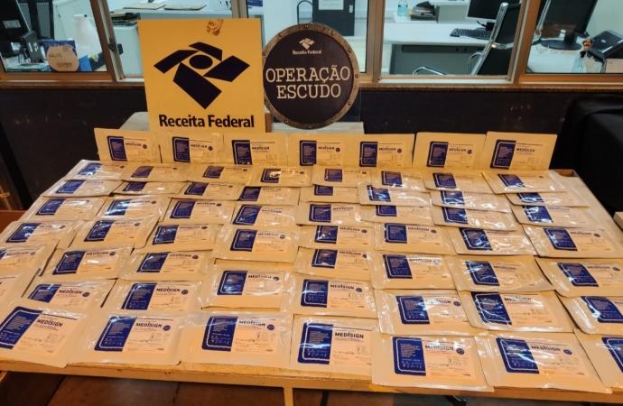 Receita Federal retêm 100 remessas postais irregulares em Foz do Iguaçu