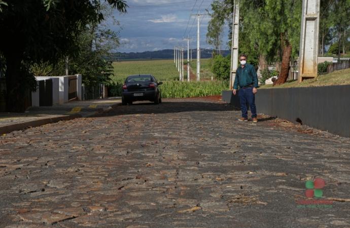 Remodelação de parte da Rua da Produção em Missal está praticamente concluída