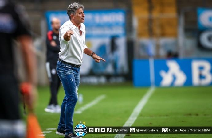Renato Portaluppi não é mais o técnico do Grêmio