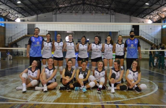 Santa Helena é derrotada por Maringá no Paranaense de Voleibol