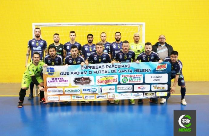 Santa Helena enfrenta São João do Ivaí amanhã pela Taça Bronze de Futsal