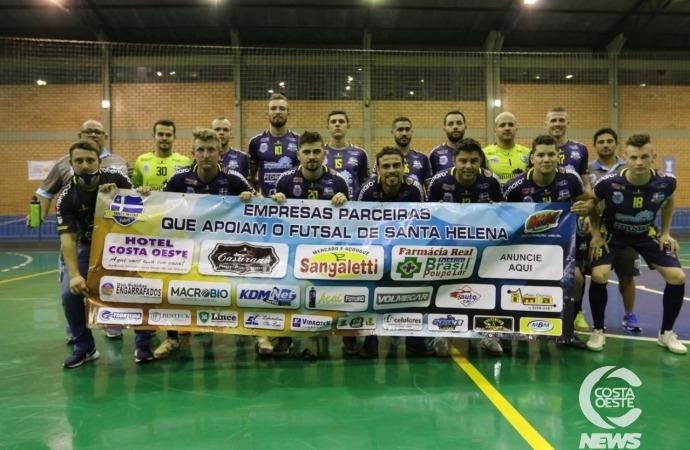 Santa Helena Futsal atropela Arapongas e se classifica para as quartas da Série Bronze