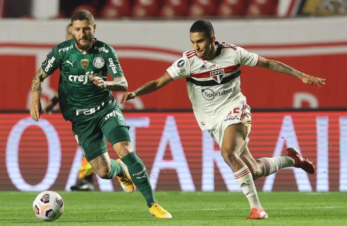 Ouça os gols: São Paulo e Palmeiras empatam no Morumbi e deixam decisão para volta