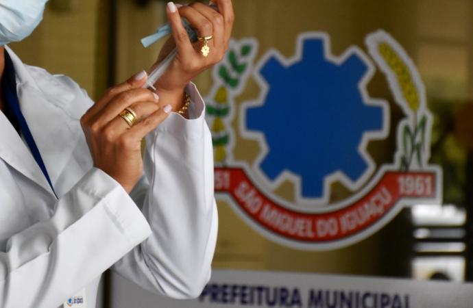 Saúde de São Miguel agenda 2ª dose da CoronaVac/Butatan para quarta (14) e sábado (17)