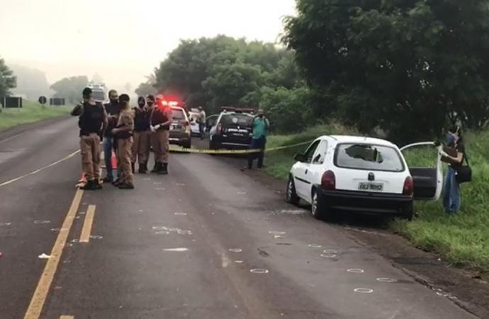 Seis homens morrem em confronto com a Polícia Militar no Paraná