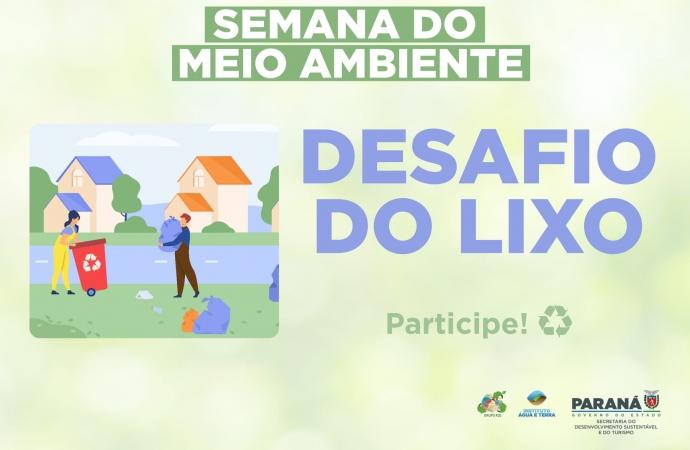 Semana do Meio Ambiente chama à atitude coletiva com o Desafio do Lixo em Itaipulândia