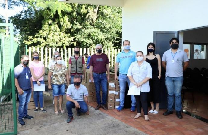 Serranópolis do Iguaçu recebe kit básico de som