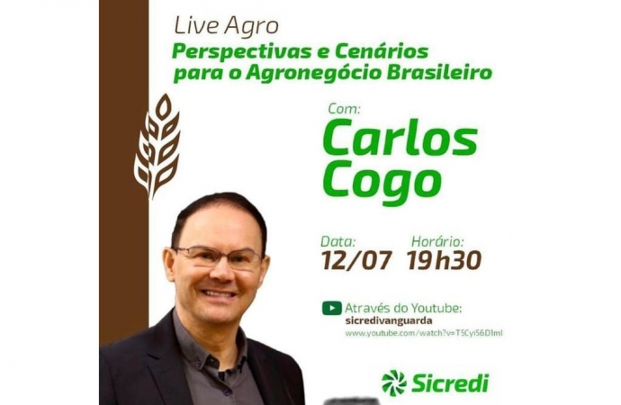 Sicredi Vanguarda realiza live voltado ao agronegócio