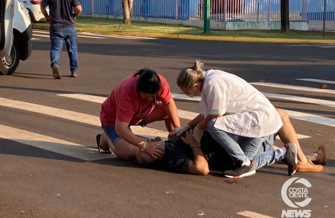 Tentativa de homicídio é registrada no bairro São Luiz, em Santa Helena
