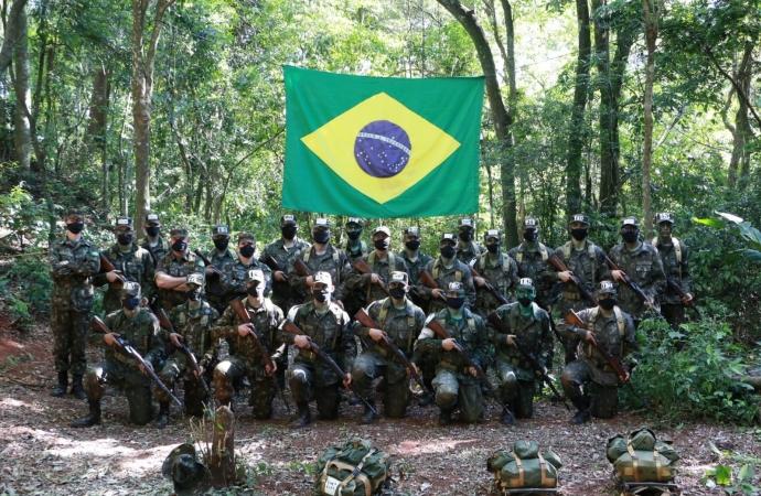 Tiro de Guerra realiza Tiro Real e Campo em Foz do Iguaçu