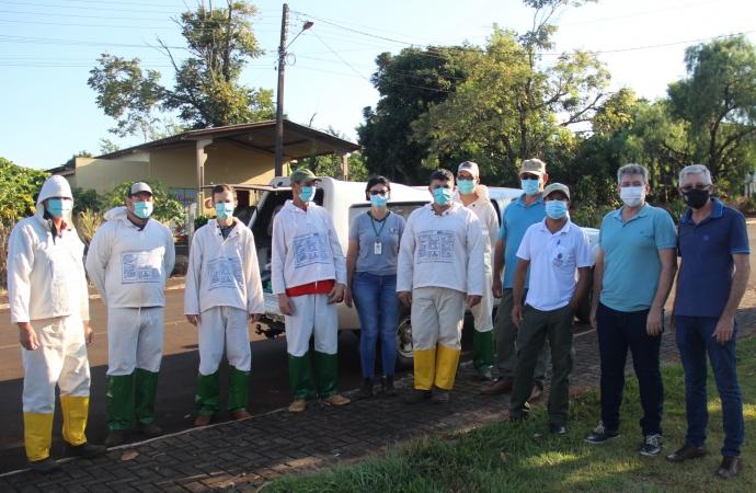 Tratamento com UBV Costal é concluído no perímetro urbano de Serranópolis do Iguaçu