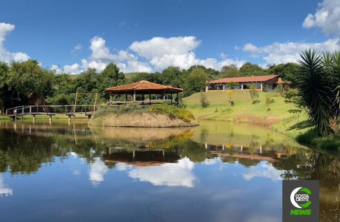 Turismo 360º: Recanto Lagoa Azul em Céu Azul é uma ótima opção de descanso em meio a natureza
