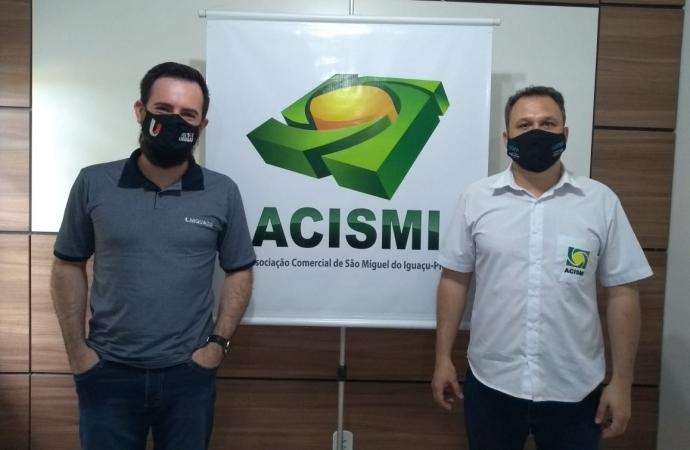UNIGUAÇU reafirma parceria com a Associação Comercial de São Miguel do Iguaçu