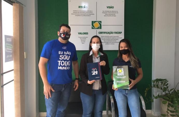 UNIGUAÇU renova parceria com a Associação Comercial e Empresarial de Santa Terezinha de Itaipu