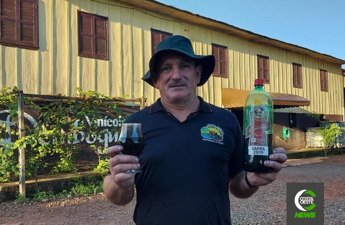 Vinicultor expande produção e sonha em transformar propriedade em centro de eventos gastronômico